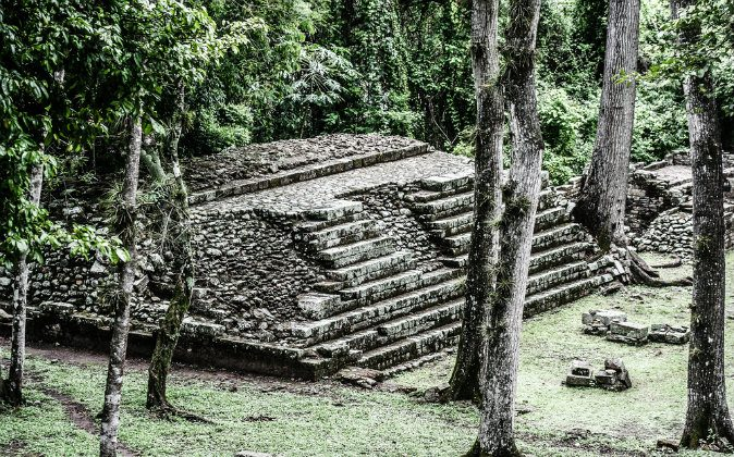Temples in the Copan Ruinas, Honduras via Shutterstock*