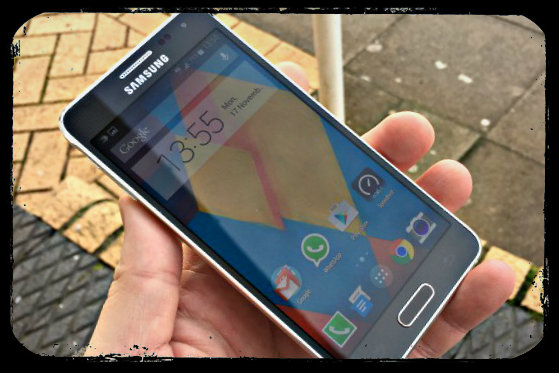 Samsung Galaxy Alpha (Courtesy of CoolSmartphone.com)