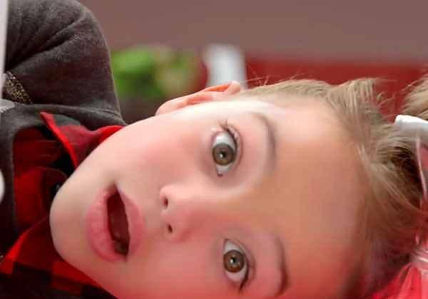 """WhatzerFace"" the delightful Target Marshmallow Land Girl is  little Tatum Bailey"