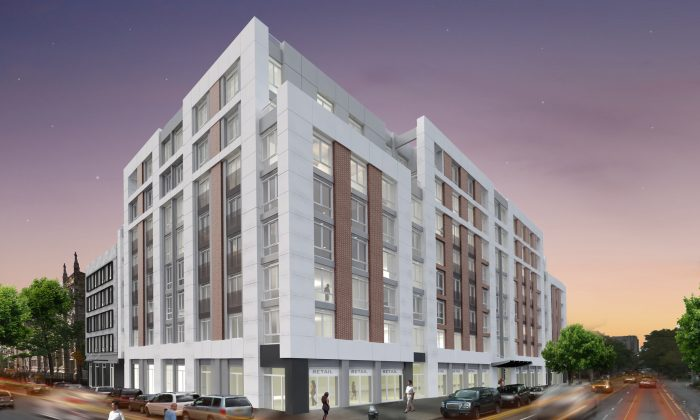 "The new development will be called the ""Renny"" in recognition of the former Harlem landmark. (Rendering Courtesy: BRP Development Corporation)"