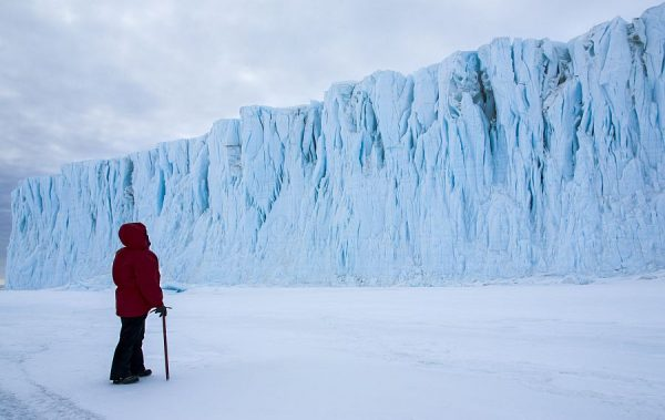 """Christine Powell in """"Antarctica: A Year On Ice."""" (Music Box Films)"""