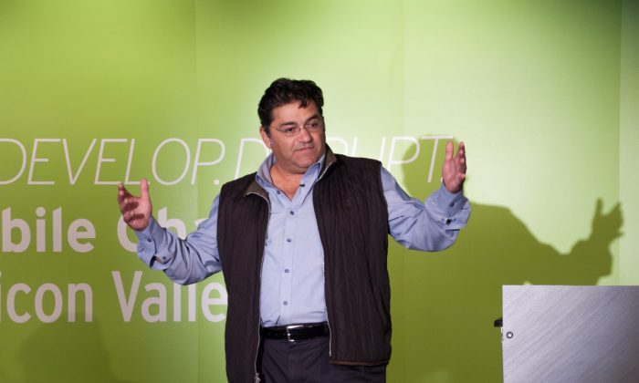 Founder and CEO of Plug and Play Tech Center, Saeed Amidi. (Flora Qu/Epoch Times)