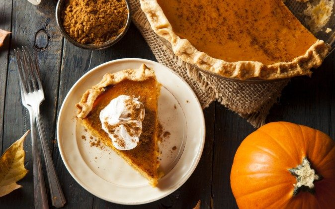 Is pumpkin pie your comfort food? (Shutterstock*)