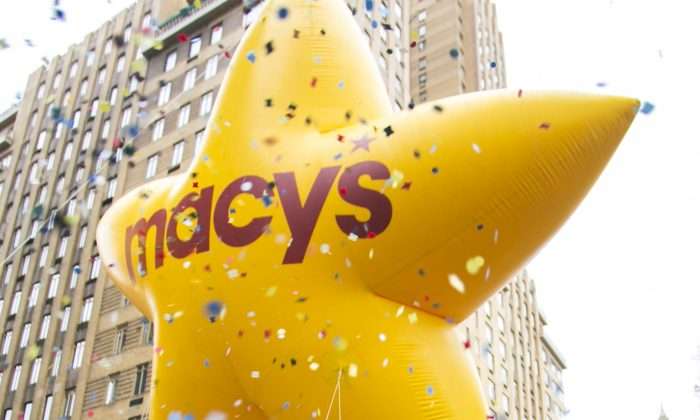 The 88th Macy's Thanksgiving Day Parade takes place on Central Park West and Sixth Avenue in Manhattan, New York, on Nov. 27, 2014. (Samira Bouaou/Epoch Times)