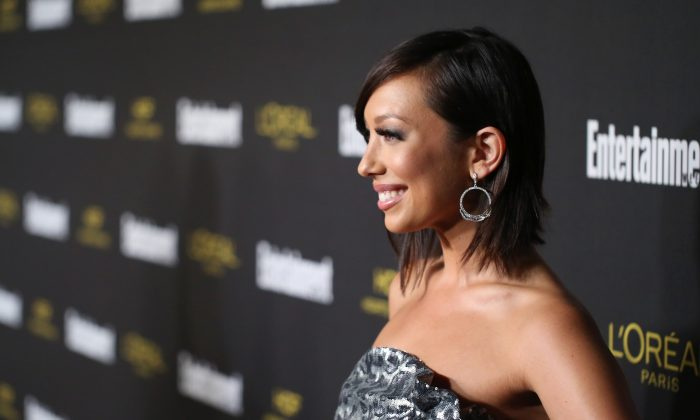 Cheryl Burke arrives at Entertainment Weekly's Pre-Emmy Party sponsored by L'Oreal Paris and Hearts On Fire at Fig & Olive in West Hollywood, Calif. on Saturday, Aug. 23, 2014. (Photo by Matt Sayles/Invision for Entertainment Weekly/AP Images)