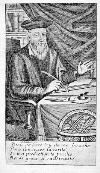 A portrait of Nostradamus, ca. 1690. (Wikimedia Commons)
