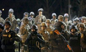 Signs Show Ferguson Trying to Move on From Unrest