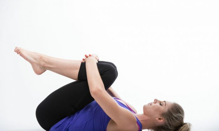 Knee Hug. This is a great movement for releasing tension in your lower back and increasing mobility.