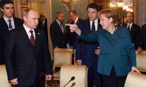 Putin Flexes His Muscles