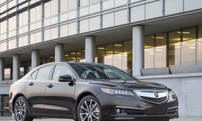 2015 Acura TLX (Courtesy of NetCarShow.com)