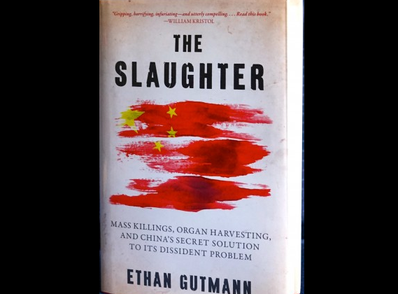 """""""The Slaughter: Mass Killings, Organ Harvesting, and China's Secret Solution to its Dissident Problem"""" by Ethan Gutmann was released Aug. 12, 2014. (Pam McLennan/Epoch Times)"""