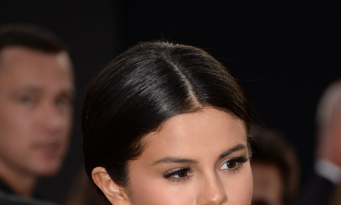 Singer Selena Gomez attends the 2014 American Music Awards at Nokia Theatre L.A. Live on November 23, 2014 in Los Angeles, California. (Photo by Jason Merritt/Getty Images)