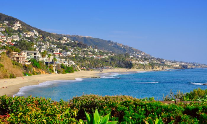 California beach houses via Shutterstock
