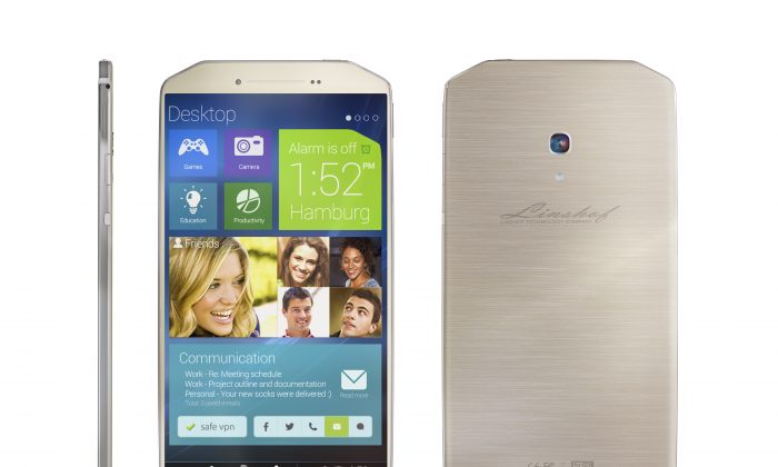 Linshof i8 smartphone with the custom UI is set to release in Q1 of 2015.