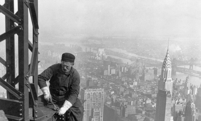 Empire State Building Skeleton. 1930. Source: U.S Government.