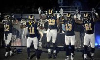 St. Louis Rams Players Show 'Hands Up' Protest Before Game, Draws Criticism