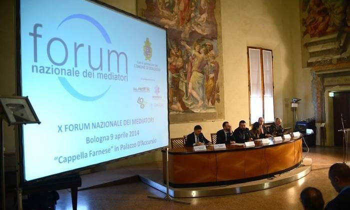 A meeting of the Italian National Forum of Mediators. (furumnazionaledeimediatori.net)
