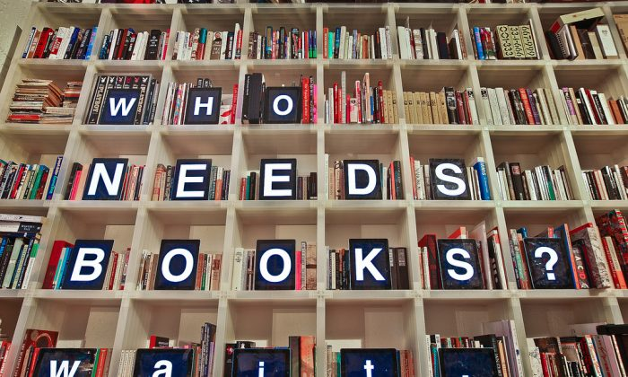 Bibliophiles have lamented the death of bookshops due to eReaders, but eReaders can encourage reading in new ways. (Flickr/nate bolt, CC BY-SA)