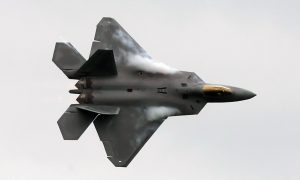 F-22 Raptors Deployed to Japan as Show of Force to China, N. Korea