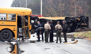 Tennessee School Bus Crash in East Knoxville: 2 Buses in Accident, 3 Dead; Chilhowee Intermediate, Sunnyview Primary