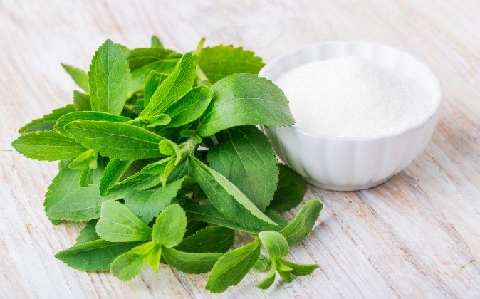 Fresh Stevia leaves (Shutterstock*)