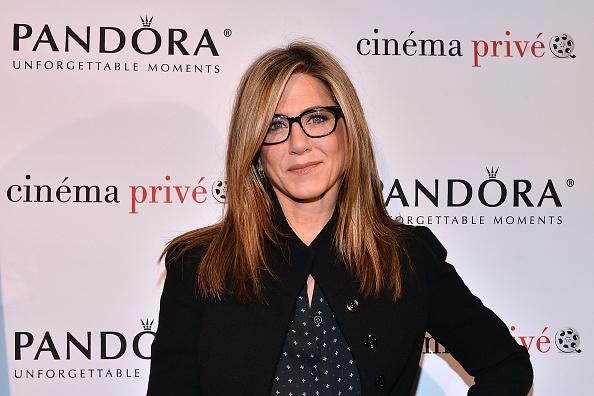 "Jennifer Aniston attends the cinema prive And PANDORA Jewelry Host A Special Screening Of ""Cake"" on November 23, 2014 in West Hollywood, California.  (Photo by Araya Diaz/Getty Images for cinema prive)"