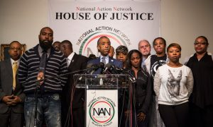 Eric Garner's Family and Rev. Al Sharpton Condemn Police Shootings