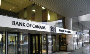 Bank of Canada Leaves Policy Rate at 1%
