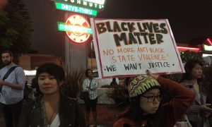LA Protestors Stand With NY Eric Garner Supporters