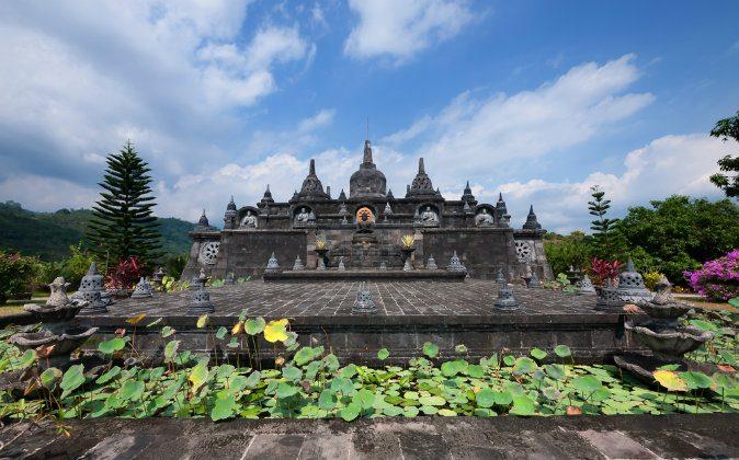 Brahmavihara Arama - Buddhist Monastery in Bali via Shutterstock*