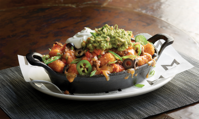 Tot'chos. (Courtesy of Morton's Grille)