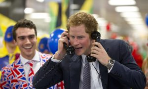 Prince Harry Parties Hard This Week, Pictured Stumbling Out of Nighclub After 3 a.m.