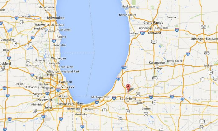 Several people were stabbed on an Amtrak near Niles, Michigan, on Friday night, according to early reports. (GoogleMaps)