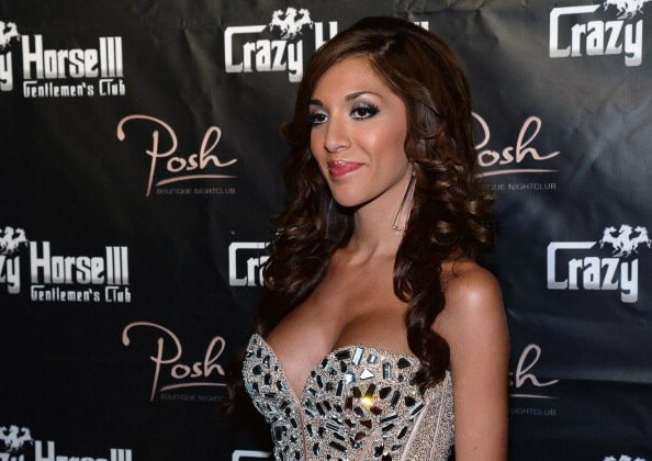 Television personality Farrah Abraham arrives at the Crazy Horse III Gentlemen's Club to host the 2013 Gentlemen's Club EXPO & Tradeshow kick off party on August 20, 2013 in Las Vegas, Nevada.  (Photo by Ethan Miller/Getty Images)