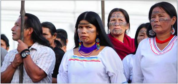 Patricia Gualinga, Director of International Relations in the Sarayaku community government. Photo courtesy of Patriia Gualinga.