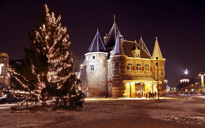 De Waag in Amsterdam via Shutterstock*