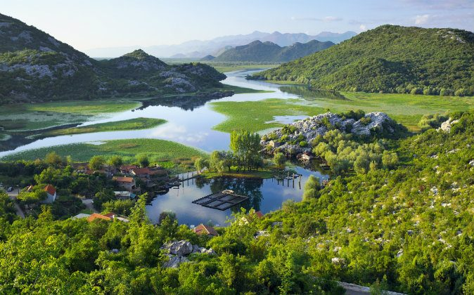 Lake Skadar National Park, Montenegro via Shutterstock*