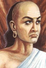 An artist's impression of Kauṭilya. (Wikimedia Commons)
