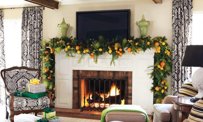 In this room, green serves as a fresh, vibrant accent colour. (Rett Peek)