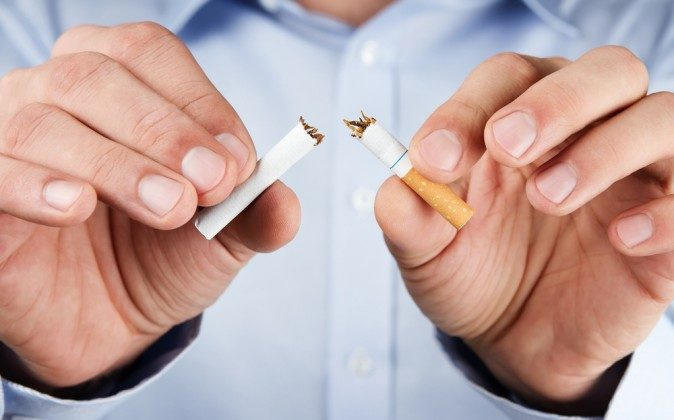 """""""The neural response to quitting even after one day can give us valuable information that could inform new and existing personalized intervention strategies for smokers, which is greatly needed,"""" says lead author James Loughead. (Shutterstock*)"""