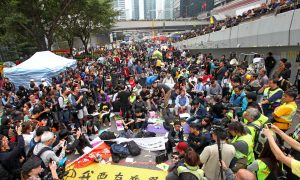 Umbrella Movement Evicted in Hong Kong