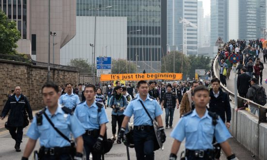 Hong Kong Admiralty/'Umbrella Square' Protest Site Clearing: Live Blog and Live Stream