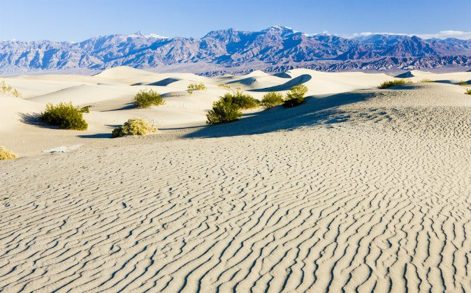Sand dunes, Death Valley National Park via Shutterstock*