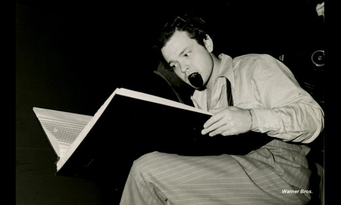 Orson Welles in his bio-pic 'Magician,' directed by Chuck Workman. (Cohen Media Group)