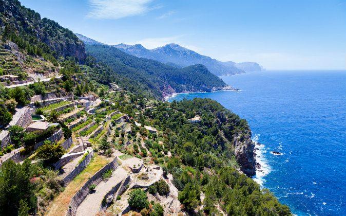 Tramuntana Mountain Range in Majorca via Shutterstock*