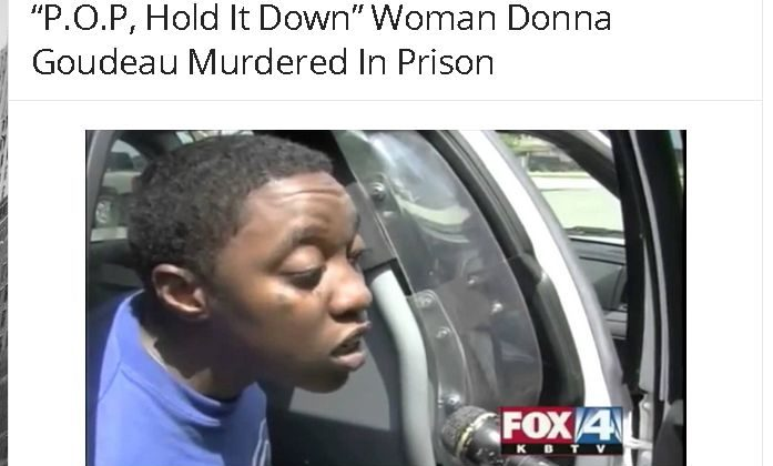 Donna Goudeau, a woman who was featured in a viral video, was not murdered in prison. (Huzlers.com screenshot)