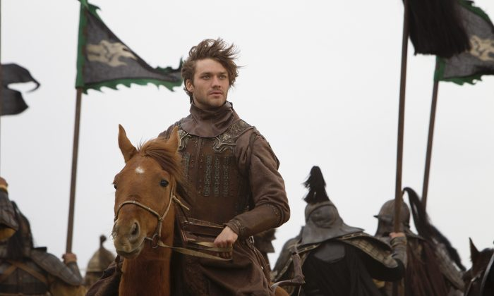 """Lorenzo Richelmy plays the titular adventurer in Netflix's new series """"Marco Polo."""" (Phil Bray for Netflix)"""