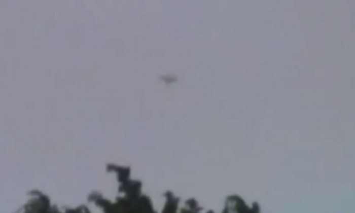 A YouTube screenshot shows the alleged UFO in Medellin.