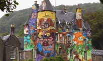 Exploring the Most Colorful Castle in Scotland (Video)