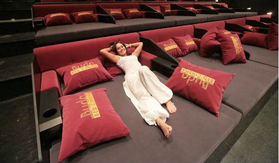 (Buda Bed Cinema, Budapest, Hungary)